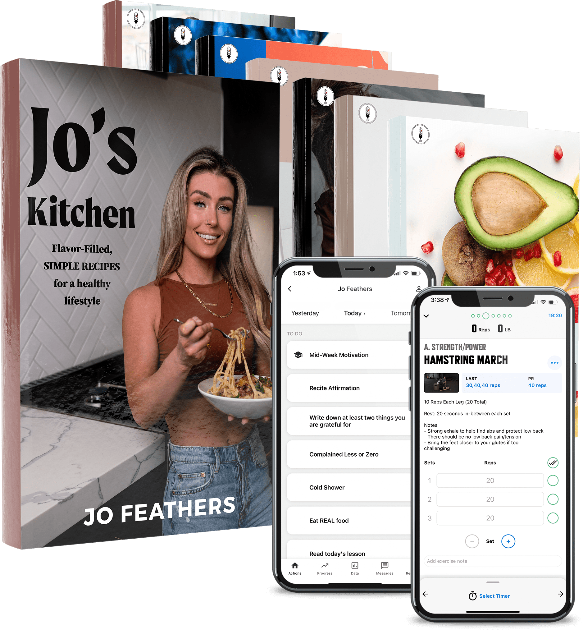 jo feathers offer stack